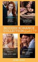 Modern Romance June 2020 Books 1-4: Cinderella's Royal Secret / His Innocent's Passionate Awakening / Beauty…