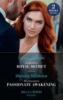 Cinderella's Royal Secret / His Innocent's Passionate Awakening: Cinderella's Royal Secret (Once Upon a Temp…