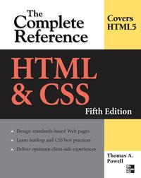 HTML&CSS:TheCompleteReference,FifthEdition