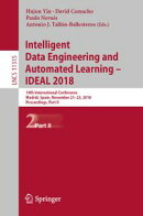 Intelligent Data Engineering and Automated Learning – IDEAL 2018