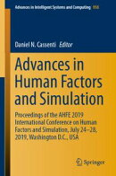 Advances in Human Factors and Simulation