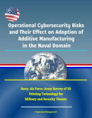 Operational Cybersecurity Risks and Their Effect on Adoption of Additive Manufacturing in the Naval Domain: …
