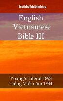 English Vietnamese Bible III