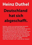 Deutschland hat sich abgeschafft!