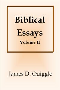 Biblical Essays II