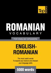 RomanianvocabularyforEnglishspeakers-5000words