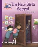 Reading Planet - The New Girl's Secret - Purple: Galaxy