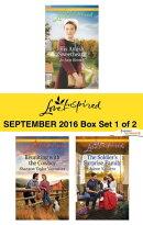 Harlequin Love Inspired September 2016 - Box Set 1 of 2