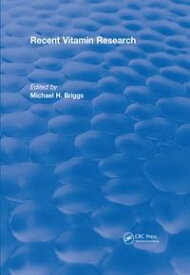 Recent Vitamin Research (1984)【電子書籍】