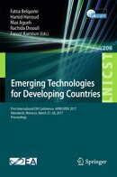 Emerging Technologies for Developing Countries