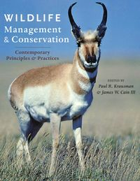 WildlifeManagementandConservationContemporaryPrinciplesandPractices