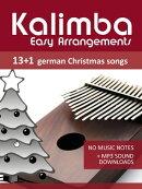 Kalimba Easy Arrangements - 13+1 German Christmas songs