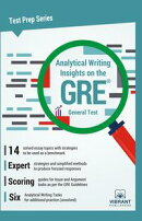 Analytical Writing Insights on the GRE General Test