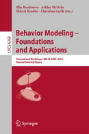 Behavior Modeling -- Foundations and Applications
