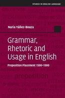 Grammar, Rhetoric and Usage in English