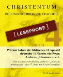 Christentum – die ungeschriebene Tragödie – Buch 4 – Leseprobe