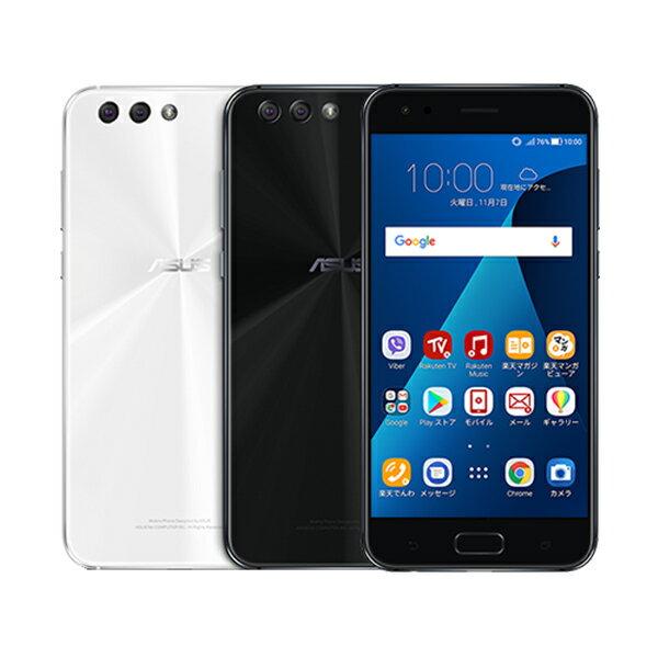 【セット販売端末】ZenFone 4+SIMカード(契約事務手数料込み)【ASUS/エイスース】【楽天モバイル】【送料無料】【SIMフリー】【格安スマホ】