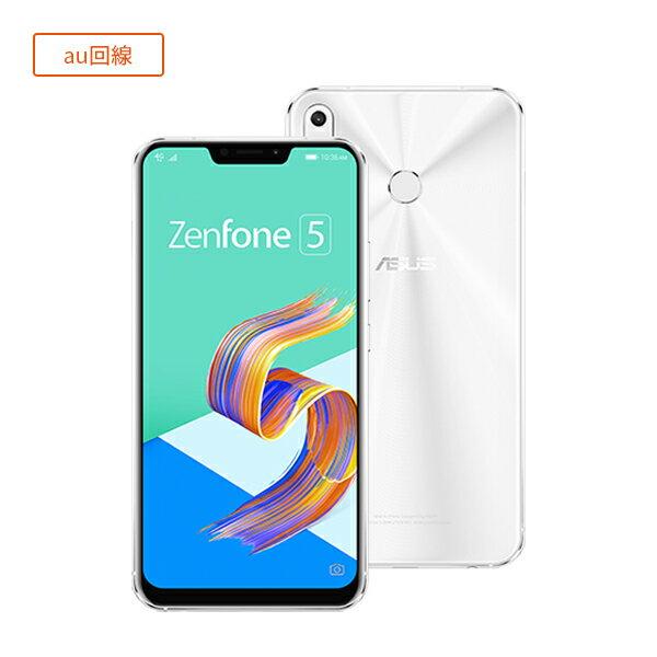 半額!【セット販売端末/au回線】ZenFone 5(ZE620KL)+通話SIMカード(契約事務手数料込み)【ASUS/エイスース】【楽天モバイル】【送料無料】【SIMフリー】【格安スマホ】