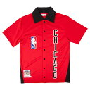 ミッチェル & ネス NBA シカゴ ブルズ 1984-85 オーセンティック シューティングシャツ メンズ / Mitchell & Ness Chicago...