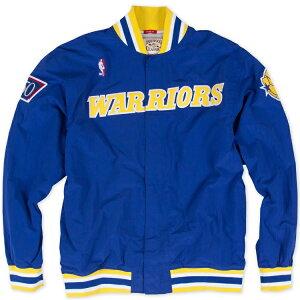 ミッチェル & ネス NBA ゴールデンステート・ウォリアーズ 1996-97 オーセンティック ウォームアップシャツ(ジャケット)/ Mitchell & Ness Golden State Warriors Authentic Warm UP Shooting Shirts /
