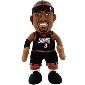 "NBA フィラデルフィア・シクサーズ アレン・アイバーソン 10インチ ぬいぐるみ / Bleacher Creatures 10"" Plush Figure / Philadelphia 76ers Allen Iverson"