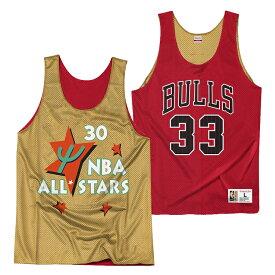 【最大1500円OFFクーポン】ミッチェル&ネス NBA シカゴ・ブルズ スコッティ・ピッペン リバーシブル ジャージー メッシュ プラクティスタンクトップ / Mitchell & Ness Chicago Bulls Reversible Mesh Tank - Scottie Pippen