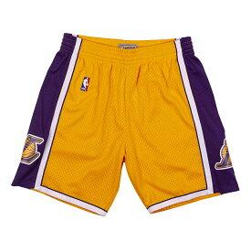 【最大650円OFFクーポン】ミッチェル&ネス NBA ロサンゼルス・レイカーズ 2009-10 スウィングマン メッシュ ショートパンツ (ハーフパンツ) レイカーズゴールド / Los Angeles Lakers 2009-10 Swingman Shorts Gold /