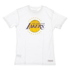ミッチェル&ネス NBA ロサンゼルス・レイカーズ スネークスキンロゴ Tシャツ / Mitchell & Ness Los Angeles Lakers T Shirt