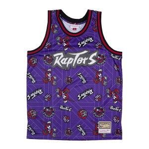 ミッチェル&ネス NBA トロント・ラプターズ Tear up スウィングマン ジャージー 総柄ロゴ / Mitchell & Ness Tronto Raptors Tear up Swingman Jersey