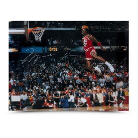 マイケル・ジョーダン 直筆サイン入り 1988 スラムダンク フォトポスター 30x40インチ 【フレームなし】 / NBA MICHAEL JORDAN AUTOGRAPHED 1988 SLAM DUNK PHOTO 30 X 40 / UPPER DECK メモラビリア