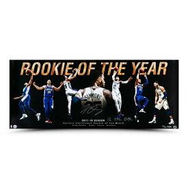 """ベン・シモンズ 直筆サイン入り 36x15インチ """"Rookie Of the Year"""" アート ポスター NBA 76ers(セブンティシクサーズ) 【フレームなし】 / BEN SIMMONS AUTOGRAPHED & INSCRIBED """"ROOKIE OF THE YEAR"""" 36 X 15 Philadelpia 76ers / Upper Deck NBA メモラビリア"""