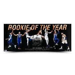 """""""ベン・シモンズ 直筆サイン入り 36x15インチ ¥""""Rookie Of the Year¥"""" アート ポスター NBA 76ers(セブンティシクサーズ) 【フレームなし】 / BEN SIMMONS AUTOGRAPHED & INSCRIBED ¥""""ROOKIE OF THE YEAR¥"""" 36 X 15 Ph"""