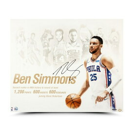 """ベン・シモンズ 直筆サイン入り 20x24インチ """"NBA Royalty"""" アート ポスター NBA 76ers(セブンティシクサーズ) 【フレームなし】 / BEN SIMMONS AUTOGRAPHED & INSCRIBED """"NBA ROYALTY"""" 20 X 24 Philadelpia 76ers / Upper Deck NBA メモラビリア"""