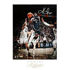 カイリー・アービング 直筆サイン入り 16x20インチ NBA ブルックリン・ネッツ Bucket フォトポスター 世界111枚限定生産 【フレームなし】 / Kyrie Irving Brooklyn Nets Autographed photo 16x20 Bucket Photograph Limited Edition to 111 / Panini メモラビリア