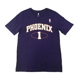NBA フェニックス・サンズ 田臥勇太 ネーム&ナンバー ユース Tシャツ パープル キッズTシャツ / Phoenix Suns Yuta Tabuse NBA公式