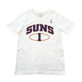 NBA フェニックス・サンズ 田臥勇太 ネーム&ナンバー ユース Tシャツ ホワイト キッズTシャツ / Phoenix Suns Yuta Tabuse NBA公式