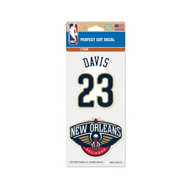 NBA ニューオーリンズ・ペリカンズ アンソニー・デイビス デコールステッカー / New Orleans Pelicans Anthony Davis
