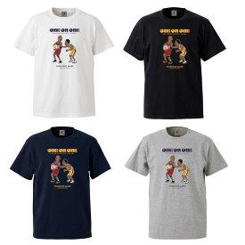 Basketball Junky 半袖Tシャツ 【One on One?】/ホワイト、ブラック、グレー、ネイビー