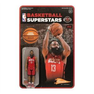 【数量限定入荷】SUPER7 NBA Playersフィギュア ヒューストン・ロケッツ ジェームズ・ハーデン / Houston Rockets James Harden
