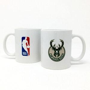 NBA ミルウォーキー バックス マグカップ (コーヒーカップ / ティーカップ) Milwaukee Bucks 【国内正式ライセンス商品】