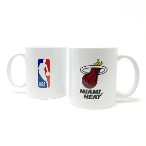 NBA マイアミ ヒート マグカップ (コーヒーカップ / ティーカップ) Miami Heat 【国内正式ライセンス商品】