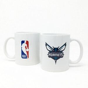 NBA シャーロット ホーネッツ マグカップ (コーヒーカップ / ティーカップ) Charlotte Hornets 【国内正式ライセンス商品】
