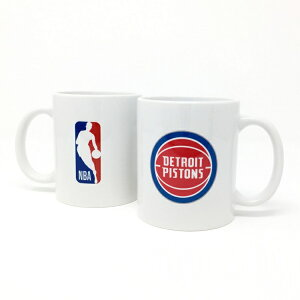 NBA デトロイト ピストンズ マグカップ (コーヒーカップ / ティーカップ) Detroit Pistons 【国内正式ライセンス商品】