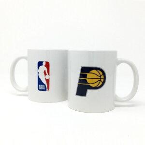 NBA インディアナ ペイサーズ マグカップ (コーヒーカップ / ティーカップ) Indiana Pacerss 【国内正式ライセンス商品】