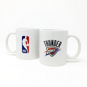 NBA オクラホマシティ サンダー マグカップ (コーヒーカップ / ティーカップ) Oklahoma City Thunde 【国内正式ライセンス商品】