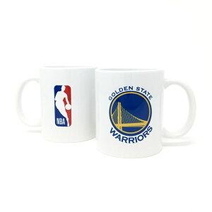 NBA ゴールデンステイト ウォリアーズ マグカップ (コーヒーカップ / ティーカップ) Golden State Warriors 【国内正式NBAライセンスグッズ】