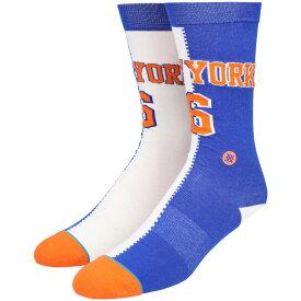STANCE(スタンス)PORZINGIS SPLIT JERSEY ソックス NBAカジュアルコレクション / ニューヨーク・ニックス New York Knicks スポーツスタイル ファッション 靴下 バスケットボール メンズ