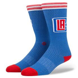【最大650円OFFクーポン】STANCE(スタンス) Los Angeles Clippers Jersy ソックス NBAカジュアルコレクション / ロサンゼルス・クリッパーズ メンズ 靴下