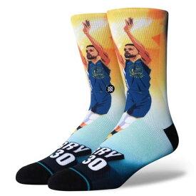 STANCE(スタンス)CURRY RISE ソックス NBAカジュアルコレクション / ゴールデンステート・ウォリアーズ ステフィン・カリー バスケットボール バッソク メンズ 靴下