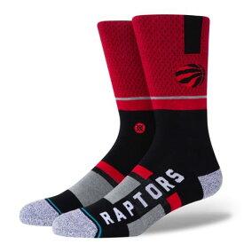 STANCE(スタンス)RAPTORS SHORTCUT 2ソックス NBAカジュアルコレクション / トロント・ラプターズ スポーツスタイル ファッション 靴下 バスケットボール / メンズ